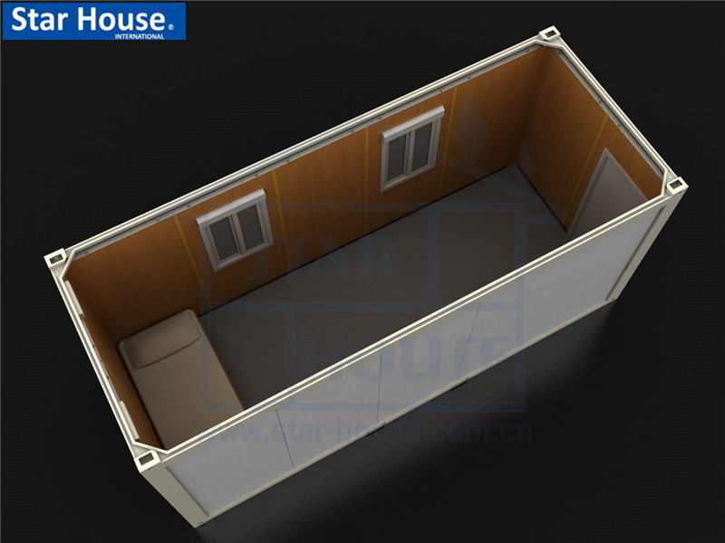 Flat pack single container house SH101 with CE,CSA,B.V.,AS certificate