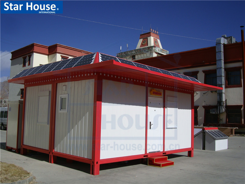 Foldable container house with CE,CSA,B.V.,AS certificate