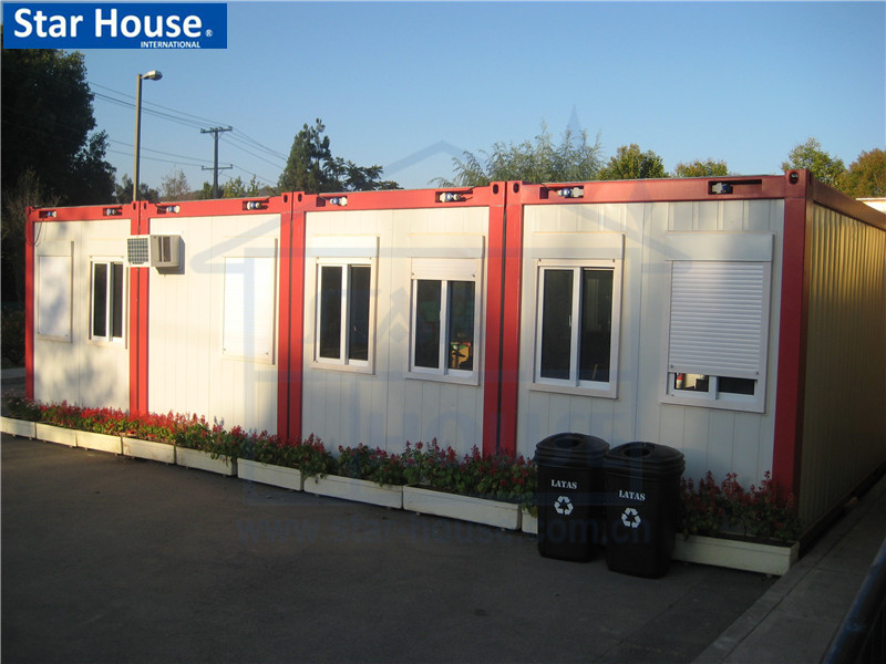 Comfortable & modern flat-packed prefab house with CE,CSA,B.V.,AS certificate