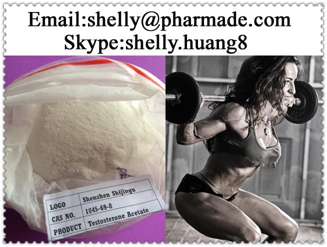 Testosterone Acetate Powder shelly@pharmade.com