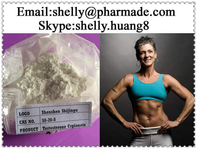 Testosterone Cypionate Powder shelly@pharmade.com