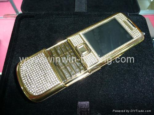 Gold Diamond 8800D GSM Mobile Phone