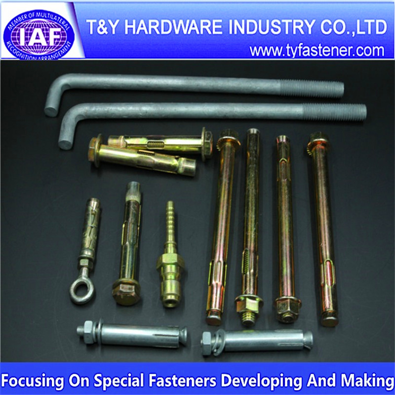 China Gold Supplier offer anchor bolt ,expansion bolt