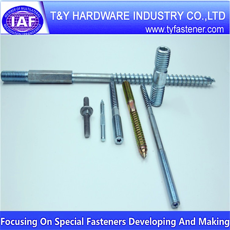 High Quality DIN Standard Hanger Bolts Metric