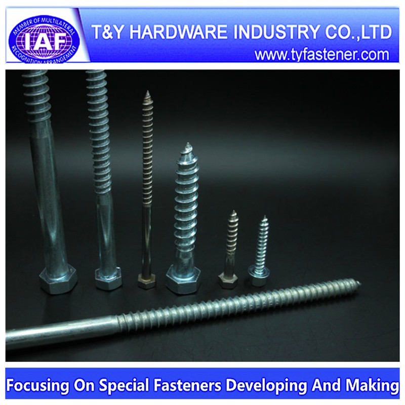 Hex Flange Head Wood Screw With Washer For Brazil