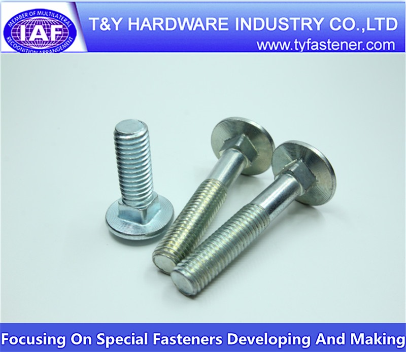 carriage bolts din 607/din 603 galvanized
