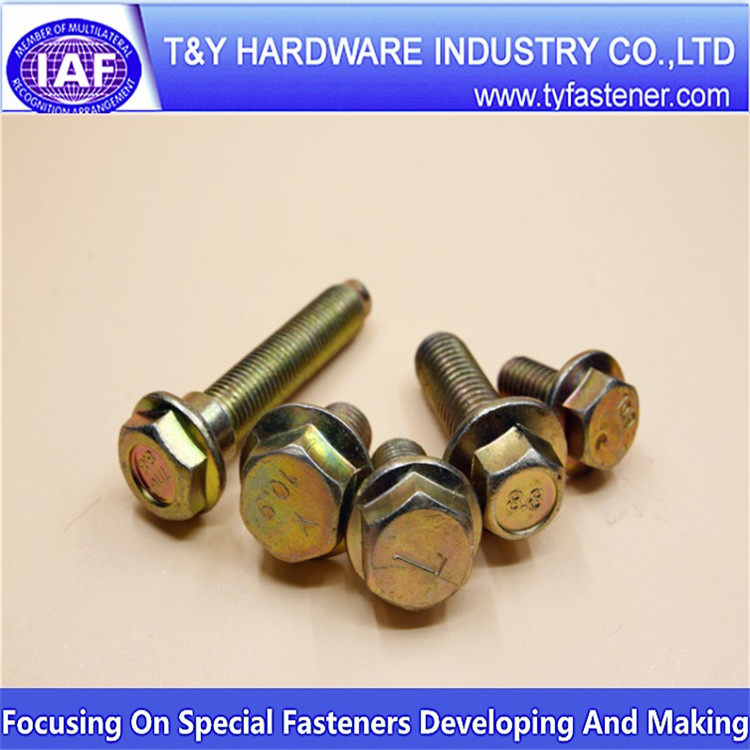 High Temperature Hexagon Head Bolts Galvanized Grade 8.8