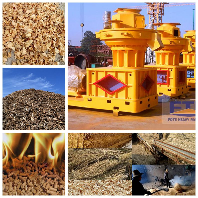 Biomass Pellet Making Machine/Factory Delivery Biomass Pellet Machine