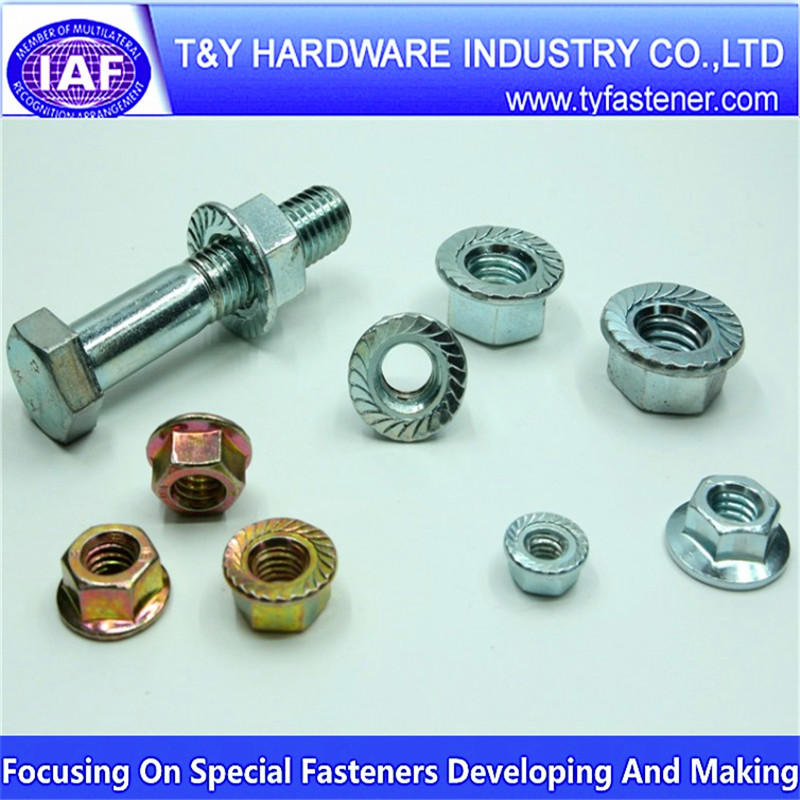 Hex Flange Nuts iso 4161