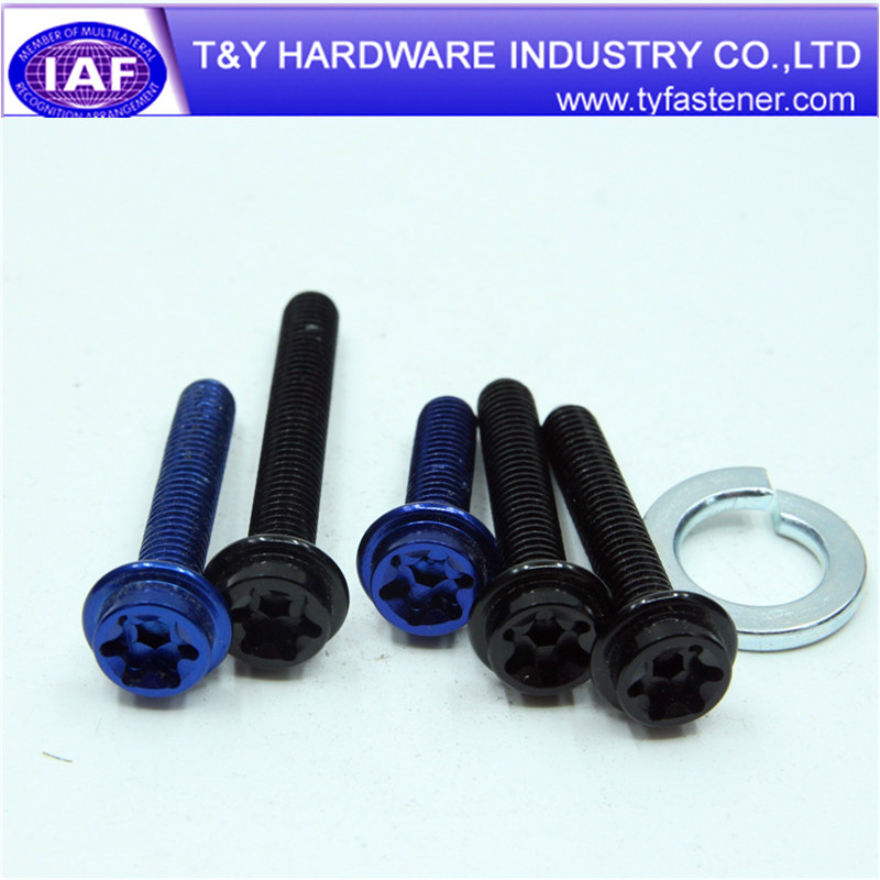 M5 Hex Socket Head Aluminum Bolt Made In China