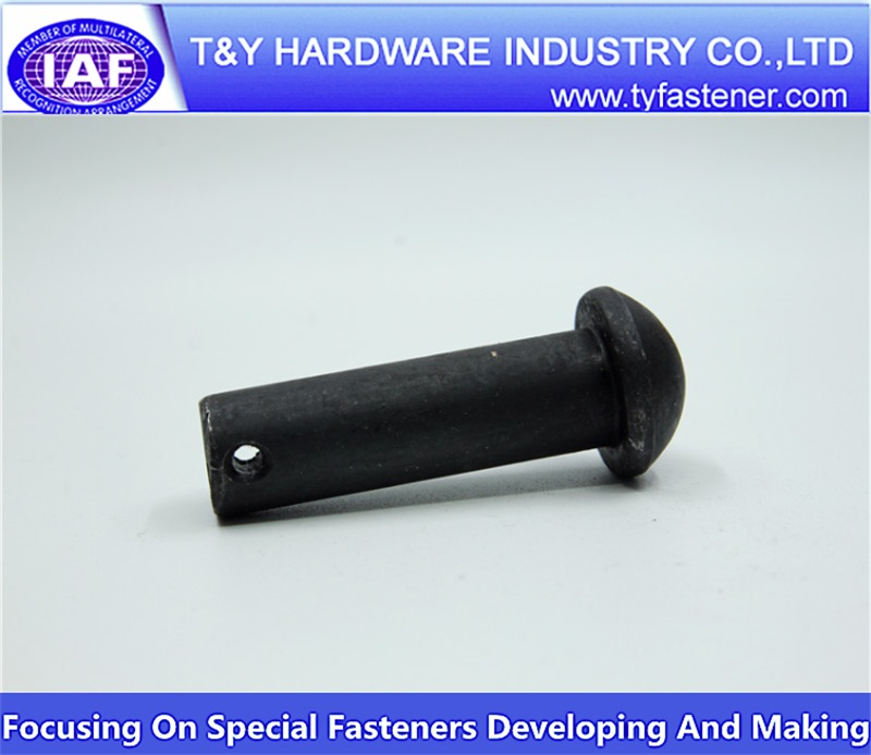 Round head Pin Carbon Steel zinc black
