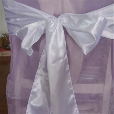 2015 Popular Organza Chair Sashes for Wedding, Party Decoration