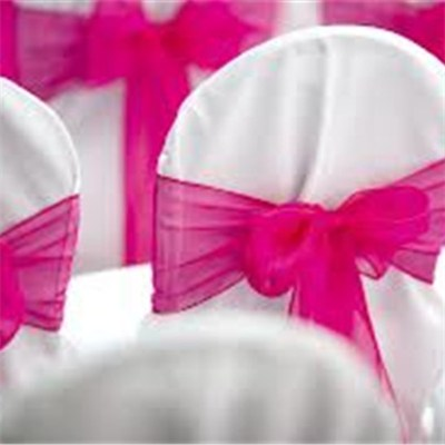 Organza Chair Sash\Chair Bow\Chair Tie