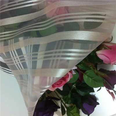 Big Stripes Organza For Flower Wrapping
