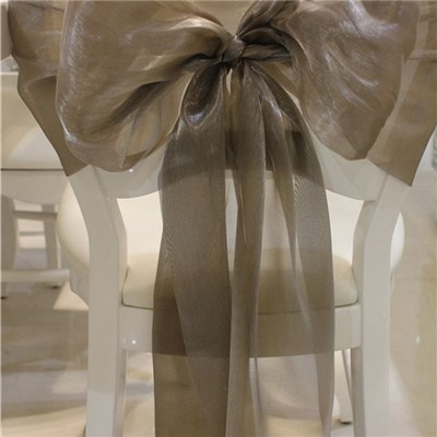 Two Tones Organza Chair Sashes