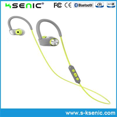 High Quality Color Customized Ear Hook Earphones with Microphone and Volume Control