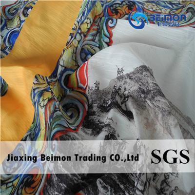 100% Polyester Colorful Printed Fabric