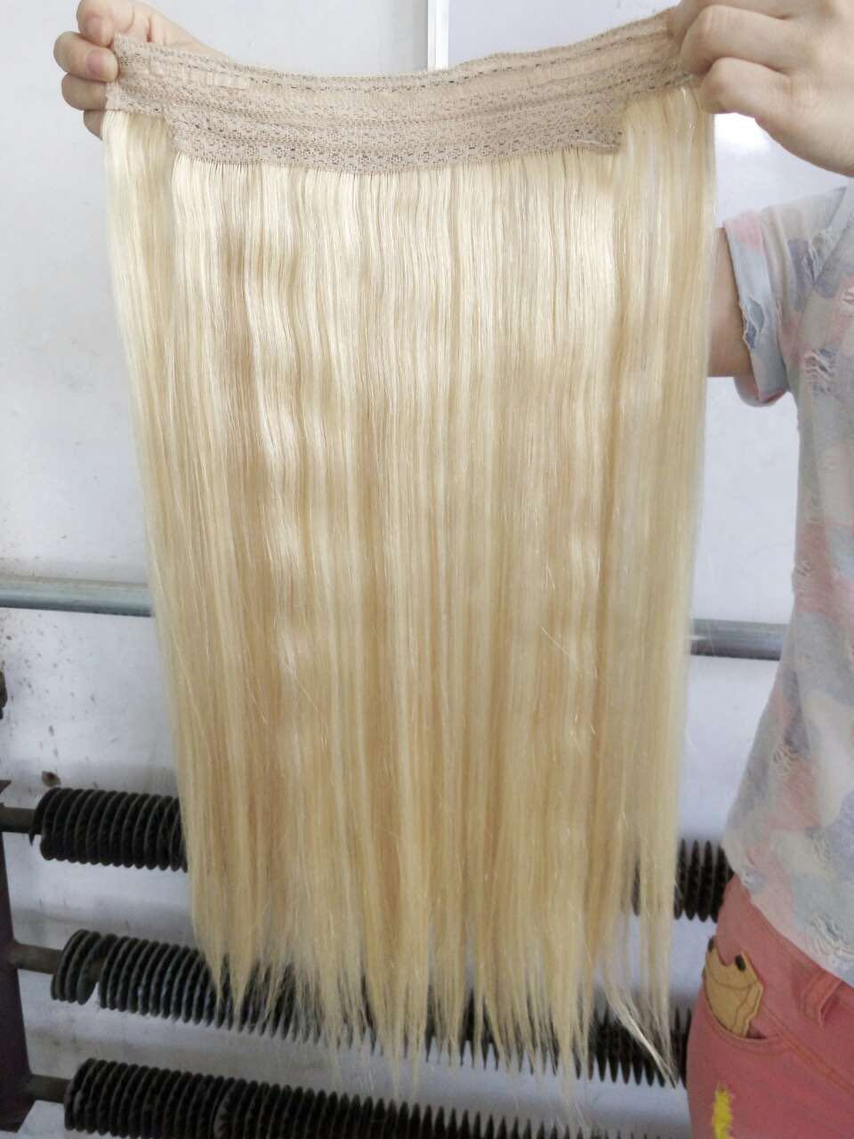 China Double Drawn Wholesale Price Flip In Style Remy Hair
