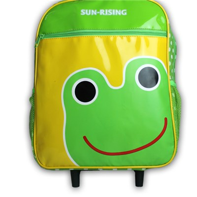 PU Cute Kids Trolley Backpack, CP15005