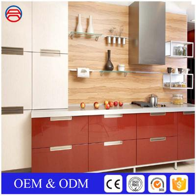 Wall Clear Tempered Glass Shelves For Kitchen