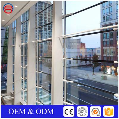 5+9A+5mm Insulated Tempered Low E Glass Curtain Walls