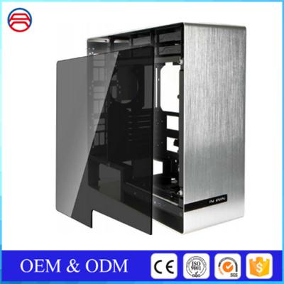 Double Side Tempered Glass Window Tinted Grey Glass Panels For Computer Case