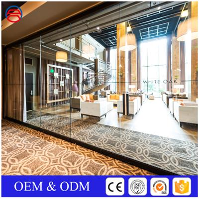 Commercial Tempered Glass Walls For Restaurant