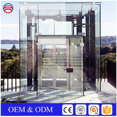Interior Insulated Tempered Glass For Elevators