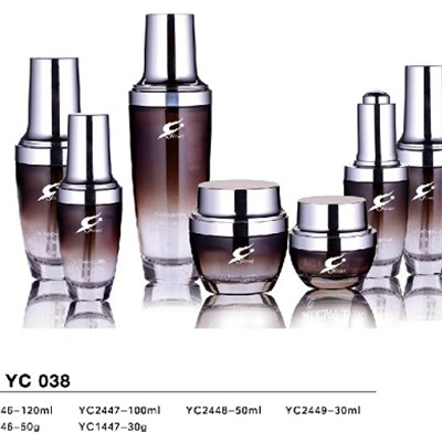 Cosmetic Glass Bottle JH-YC038
