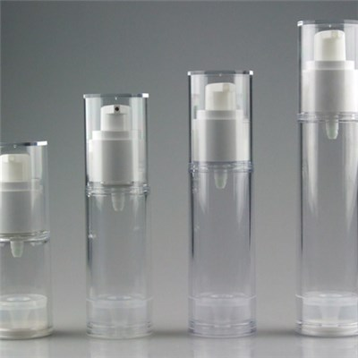 Cosmetic cream Plastic bottle with airless pump,30ml-40ml-50ml-60ml