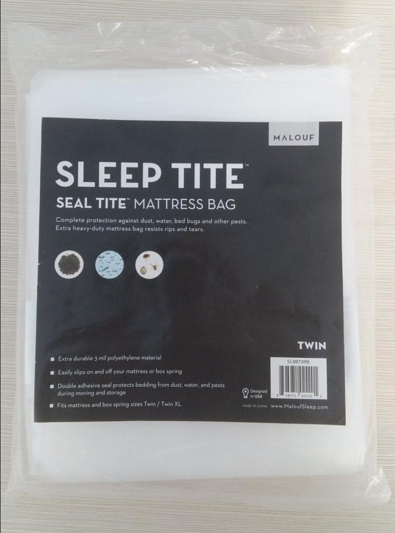king size queen size disposable plastic mattress bag for moving