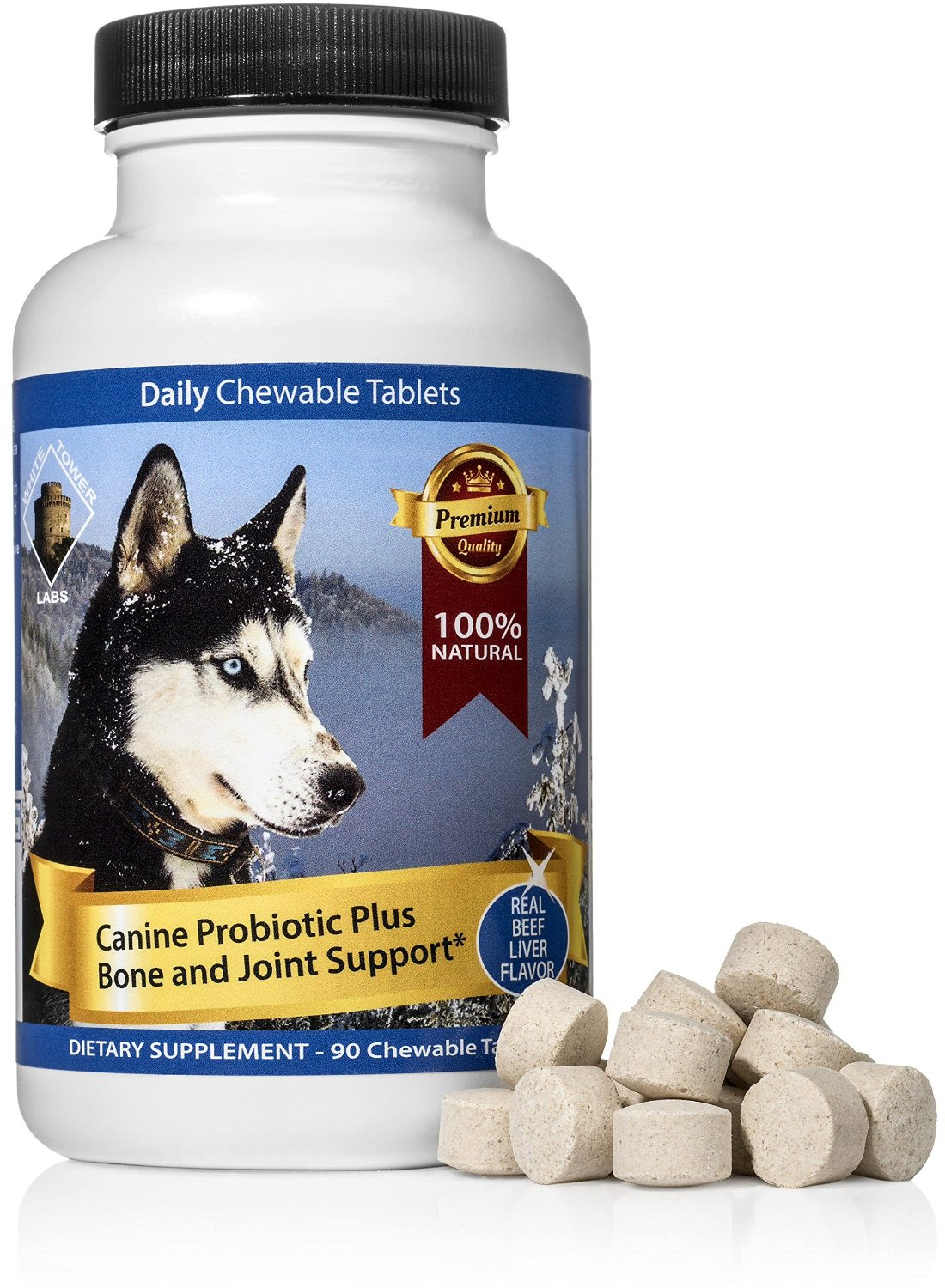 Chewable Probiotic For Dogs - Digestive Enzymes Boost