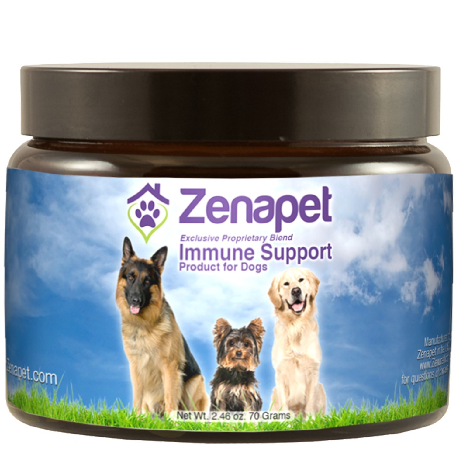 Dog Immune Support, Zenapet Immune Booster For Dogs