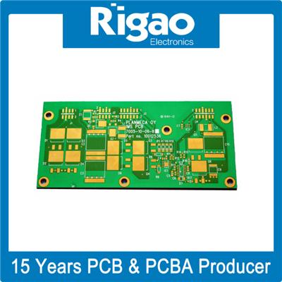 Professional Multi-Layer Boards 8-Layer Cobalt Gold PCB