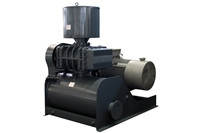 Waste water treatment Roots type aeration blowers