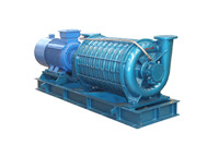 Waste water treatment multistage centrifugal blower