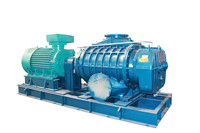 Forced oxidation Roots type blowers for FGD