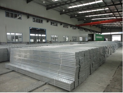 Welding Galvanized steel plank for scaffolding system for construction