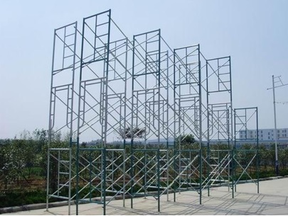 scaffolding main frame system for building material supplier