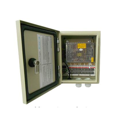 12VDC 10Amp 18Ch Water-proof CCTV Power Distribution Unit (12VDC10A18PW)
