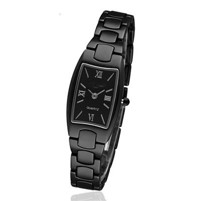 Wholesale Simple Style Ceramic white black Watches  for women ladies