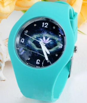 Wholesale Unisex Fashion Watches Silicone Jelly Gel Quartz Analog Mens Sports Watches