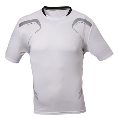 in stock Mens White Plain Tee Shirts In Bulk Surplus Inventories
