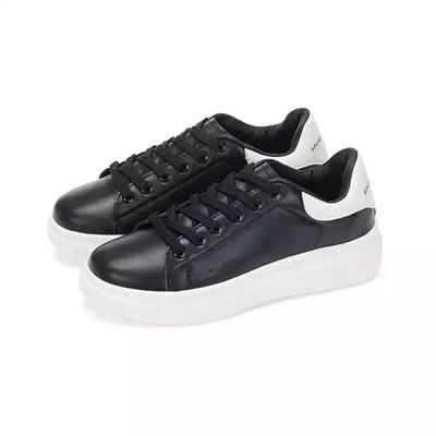 Surplus Inventories Classic Mens Oxford Platform Sneaker Shoes in stock
