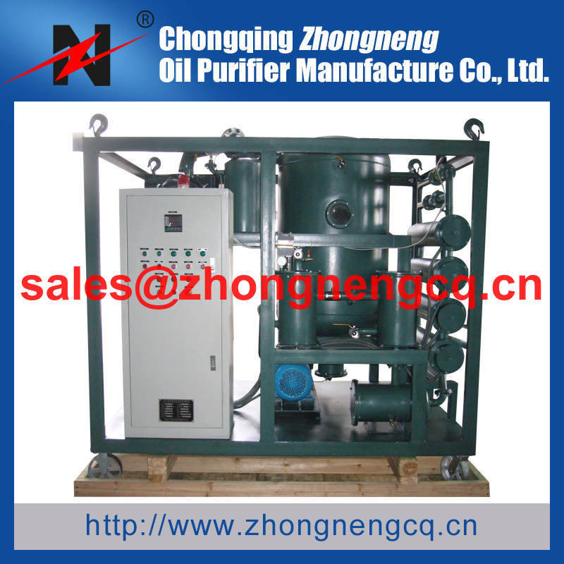 Single Stage VacuumTransformer Oil Purifier