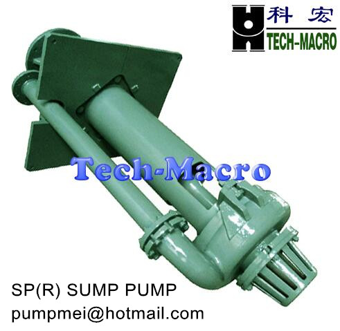 SP series vertical slurry pump