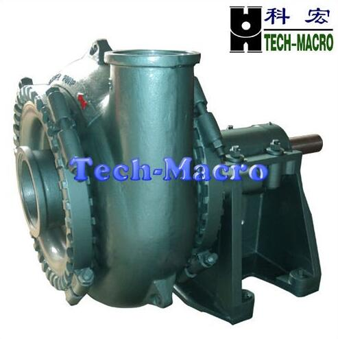 High flow capacity sand and gravel suction dredge pump series for river channeling and sand dredging