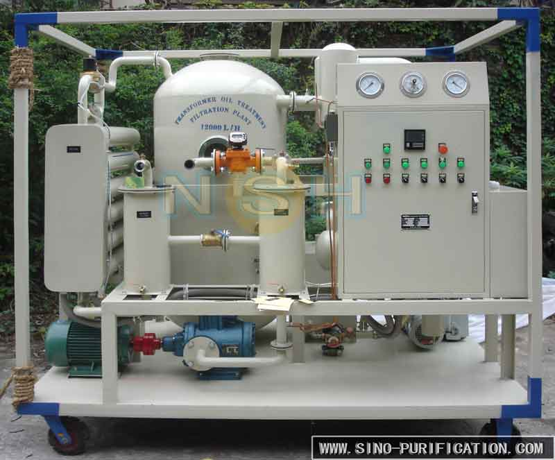 Quality and Low Price Transformer Oil Filtering Plant