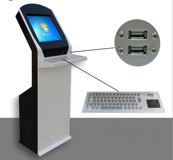 19 self service payment kiosk with high accurate touch screen