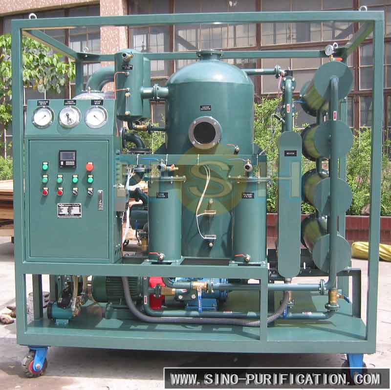 Double-Stage Vacuum Insulation Oil Regeneration Equipment